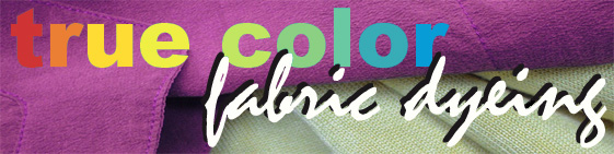 true color fabric dyeing